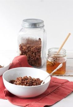 Coffee Granola with Chocolate, Honey + Sea Salt - offbeat + inspired