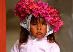 Beautiful little girl from Mexico