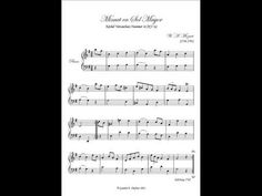 This is the first piece that Mozart ever wrote… when he was FIVE years old - Classic FM