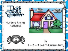 I have added an Itsy Bitsy spider magnet activity file to 1 - 2- 3 Learn Curriculum. Please click on picture to access web site and learn how to become a member or to access free downloads. :)