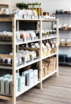 ikea com compra tus muebles y decoracion online delivers online tools that help you to stay in control of your personal information and protect your online privacy. Ikea Pantry, Pantry Shelving, Store Shelving, Cafe Design, Store Design, Display Design, Ikea Inspiration, Bulk Store, Grocery Store