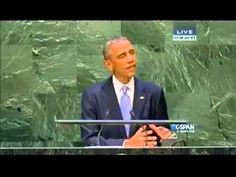 Obama Denounces America Before UN Over Michael Brown Shooting -- There's no country in the world in which a sociopathic thug doesn't stand to get himself killed if he attacks a police officer. Yet Obama, representing the U.S. before the UN today, saw fit to twist the events in Ferguson into leftist propaganda with which to berate America. .. I can't imagine anything an American could do that would be more contemptible than voting for this character not once but twice. [...] 09/24