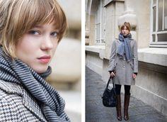 Lea Seydoux and her fabulous street style