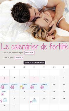 Vous n'avez qu'une envie… avoir un bébé ! Mettez toutes les chances de votre côté en établissant votre calendrier de fertilité. Cet outil pratique et amusant vous permettra de connaître votre date d'ovulation, le moment idéal pour mettre en route un bébé.