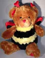 Valentine Honey Bee Bear Plush Red Heart Horns Wings Glitter Paws Love Dan Dee Great Valentines Day Gifts, Horns, Wings, Bee, Plush, Teddy Bear, Glitter, Crafts, Stuffed Animals