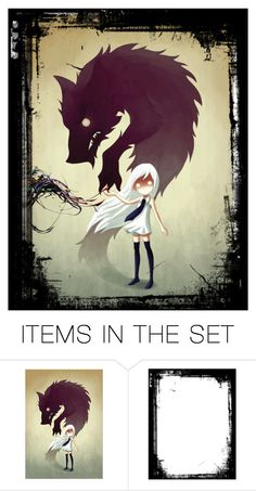 """""""The beast inside"""" by dark-queen12 on Polyvore featuring art"""