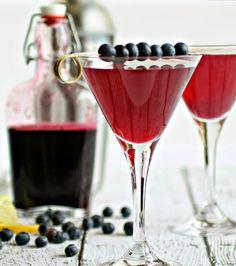 A Cocktail Life: Blueberry Lemon Drop