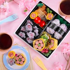 Bento Box Lunch For Kids, Bento Kids, Cute Bento Boxes, Bento Recipes, Baby Food Recipes, Anime Bento, Food Art For Kids, Kids Menu, Aesthetic Food
