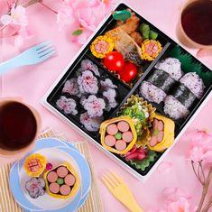 Bento Box Lunch For Kids, Bento Kids, Japanese Food Art, Japanese Snacks, Bento Recipes, Baby Food Recipes, Food Videos, Anime Bento, Food Art For Kids