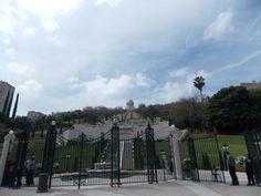 Israel - Haifa - Jardins do Templo Bahai
