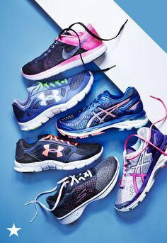 Time to hit the ground running! Make sure you're ready to go the distance in new running sneakers from Finish Line at Macy's. Styles from Nike, Under Armour, Sketchers and Asics help you reach your goals again and again. Shop your favorite styles now.