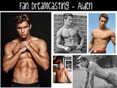 Fan Character Boards: Aiden from Kiss Me by Jillian Dodd, hot guys, books, The Keatyn Chronicles