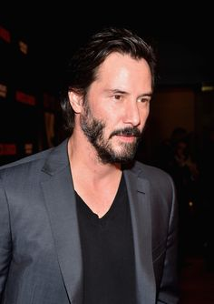 Keanu Reeves - Premiere of Lionsgate's 'Knock Knock' Red Carpet