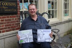 Steve Light, author of Have you Seen My Monster? and Have You Seen My Dragon?
