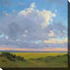 Gallery Direct Kim Coulter 'Afternoon Sky I' Giclee Canvas Art
