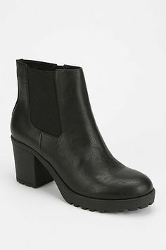 Wanted Santiago Treaded Platform Ankle Boot