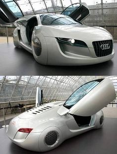 Future Audi reminds of Robot movie - App for your Audi…