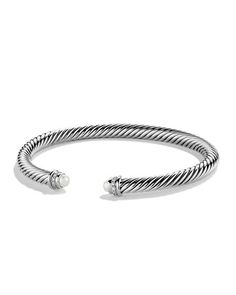 2015 Wishlist: David Yurman Cable Classic Bracelet with Diamonds AND Pearls (to match my earrings) <3 #NeimanMarcus