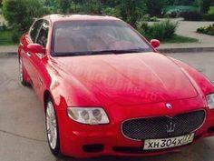 Продажа Maserati Quattroporte 2004 г., Ханты-Мансийск, красный цвет, седан, двигатель бензиновый, 4.2 л., кпп автомат, 55000 км. пробег