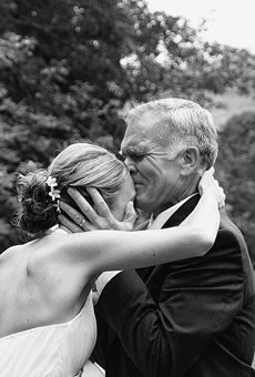 Brides Magazine: Emotional Father-of-the-Bride Photos