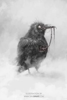 """Zombie Raven I would ♥ getting a zombie raven tattooed to represent my son DRAVEN for two reasons 1)his name comes from the movie """"The Crow"""" 2)he's obsessed with zombies!"""