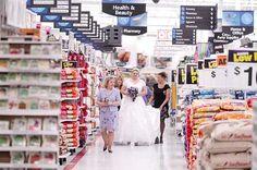 Walmart wedding - no shit. People really do this?