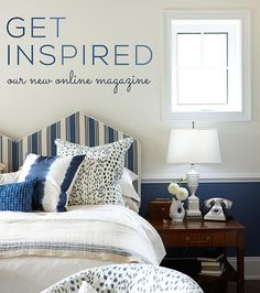 Sarah's new website! Love her designs! Get Inspired -- Our New Online Magazine