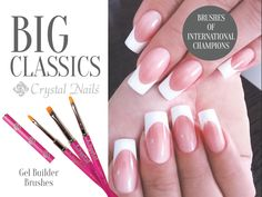 #brush #nailbrush #nailart #nailbed #gelnails #crystalnails