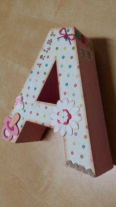 1000 images about letras 3d on pinterest pintura letters and decoupage - Letras para decorar ...