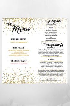 Read for more information on how we set up this Filipino Debut Program. 18th Debut Theme, 18th Debut Ideas, Debut Themes, Debut Gowns, Debut Dresses, Debut Planning, Party Planning, Debut Checklist, Debut Program Flow