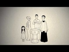 What is Baptism, sketch animation, narrated in Mandarin Chinese.