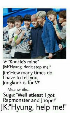 The struggle for Jungkookie