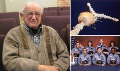 Bob Ebeling, died March 21, 2016 at the age of 89.  He was one of the engineers who warned NASA officials in 1986 that an early-cold morning launch space shuttle Challenger was doomed from the beginning.