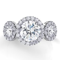 Capri Jewelers Arizona ~ www.caprijewelersaz.com Danhov Diamond Engagement Rings XE106