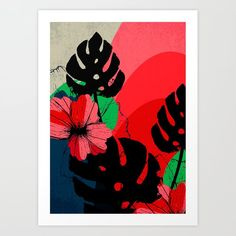 """Set the tone of your room from the walls out—""""from the ground up"""" is so dated. Mix and match your favorite art prints on a gallery wall showcasing everything that makes your style unique. Art prints available in five sizes, from x-small to x-large. *Exact sizing may vary slightly due to printing process, we advise waiting to buy frames until the prints arrive. - Natural white, matte, ultra smooth background - 100% cotton, acid and lignin-fre..."""