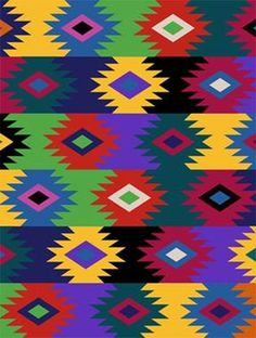 Anti- Pill Fleece Fabric- Pueblo Woven
