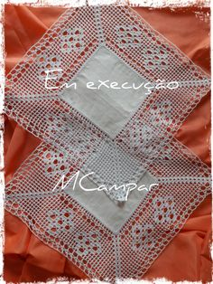 Patricia Hernandez's media content and analytics Crochet Dollies, Crochet Lace Edging, Crochet Borders, Crochet Squares, Hand Crochet, Knit Crochet, Crochet Bedspread, Crochet Tablecloth, Crochet Blanket Patterns