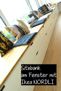 Good No Cost DIY Ikea Hack - Sitzbank am Fenster mit Nordli Kommoden Thoughts There's nothing Better than the usual brilliant IKEA Hack of worn region, and it is a good reaso Nordli Ikea, Ikea Kallax Regal, Ikea Kallax Hack, Living Room Accents, Home Accents, Ikea Hack Bench, Ikea Eket, Kallax Shelving, Diy Kitchen Decor