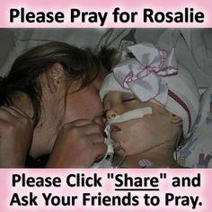 Praying for Rosalie