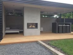Im Freien Heated outdoor terrace, # heated # terrace # garden house, Buying Clothing When Christmas Back Gardens, Outdoor Gardens, Outdoor Pavillion, Spa Jacuzzi, Outdoor Living Rooms, Outdoor Kitchen Design, Pergola Designs, Terrace Garden, Garden Inspiration