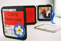 Young Women Camp Memories Tin