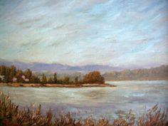 Autumn, original painting  by Francesco Sessa