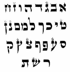 hebrew font | AUM, the sound of creation, and the mother letters