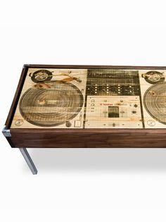Wooden DJ CoffeeTable