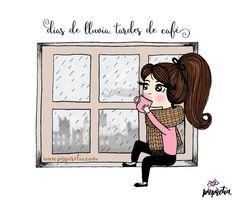 Plan perfecto para una tarde de noviembre. www.pizpiretia.com #diseñografico #humor #ilustraciones #humorgrafico #imagenesdivertidas #pizpiretia