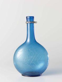 Fles met het opschrift: Blusch den geest niet uyt, anoniem, 1686