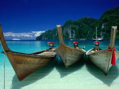 Ko Phi-Phi Don, Krabi, Thailand - we are staying on this island for a few nights! SO excited!