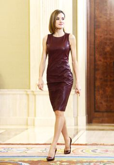 royalwatcher:  Queen Letizia attended audiences at Zarzuela Palace, October 30, 2015