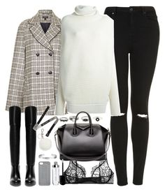 """""""Outfit for a college tour in winter"""" by ferned on Polyvore featuring Topshop, Acne Studios, Kiki de Montparnasse, Givenchy, Zara, McQ by Alexander McQueen, Marc by Marc Jacobs, Michael Kors and Cartier"""