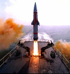 Dhanush ballistic missile successfully tested by India http://www.thehansindia.com/posts/index/2013-11-23/Dhanush-ballistic-missile-successfully-tested-77704